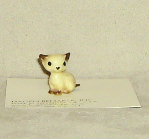 Hagen Renaker Miniature, Sitting Kitten