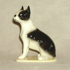 Hagen Renaker Miniature, Boston Terrier Pedigree