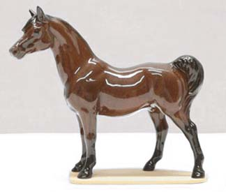 Hagen Renaker Miniature, Bay Stallion