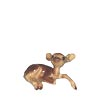 In The Woods, Hagen Renaker Miniature, Deer Baby Lying