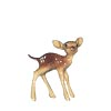 In The Woods, Hagen Renaker Miniature, Deer Baby Standing