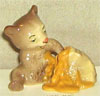 In The Woods, Hagen Renaker Miniature, Bear Cub w/ Hive