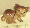 In The Woods, Hagen Renaker Miniature, Little Bother Cub