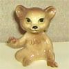 In The Woods, Hagen Renaker Miniature, Bear Cub Sister