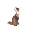 In The Woods, Hagen Renaker Miniature, Ferret Standing