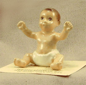 Hagen Renaker Miniature, Baby Seated