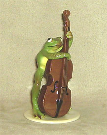 Hagen Renaker Miniature, Froggy Bass Player