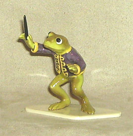 Hagen Renaker Miniature, Toadally Conductor