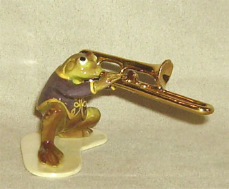 Hagen Renaker Miniature, Toadally Trombone Player
