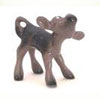 On The Farm, Hagen Renaker Miniature, Calf Black
