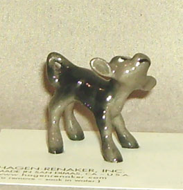 Hagen Renaker Miniature, Calf Black