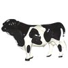 On The Farm, Hagen Renaker Miniature, Holstein Bull