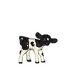 On The Farm, Hagen Renaker Miniature, Holstein Calf