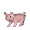 On The Farm, Hagen Renaker Miniature, Pig Standing Pink